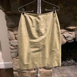 Philippe Adec Silk Skirt